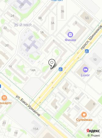 Ярдэм на карте