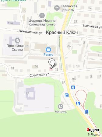 Красноключинский центр семейной медицины на карте