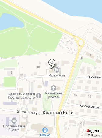 Яна-стом на карте