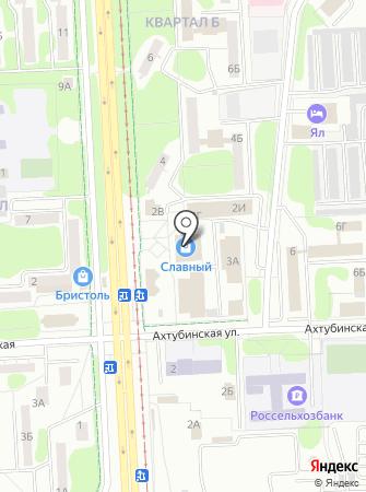 Салон на проспекте Строителей на карте