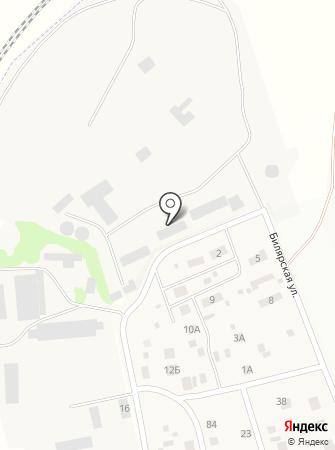 Крупол на карте