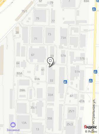 Мобильный Рай на карте