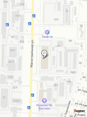 Тимур на карте
