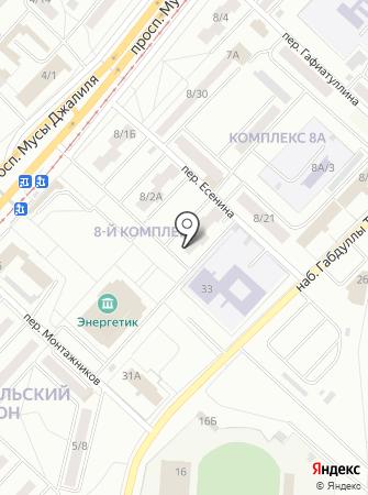 Поволжская типография на карте