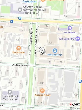 Классик на карте