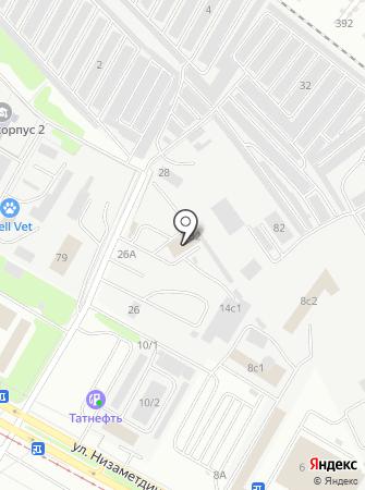 Ариксон на карте
