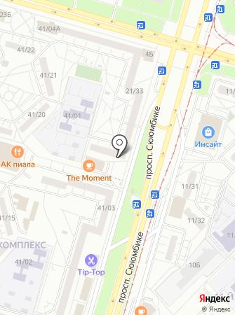 Челны перевозки на карте
