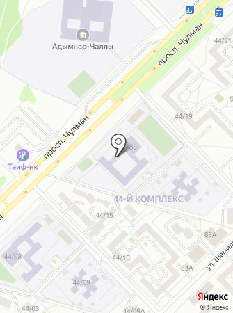 Детско-юношеский центр №14 на карте