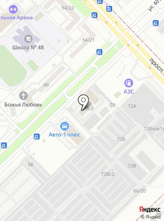 Тентпроект на карте
