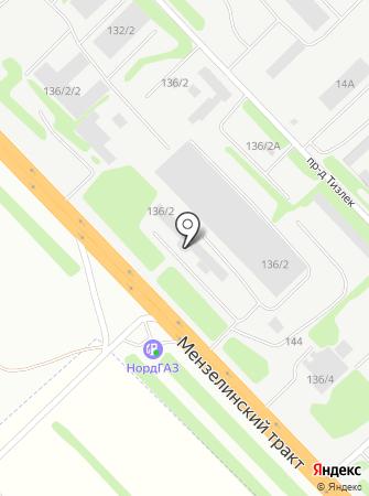 Экспресс бланк на карте