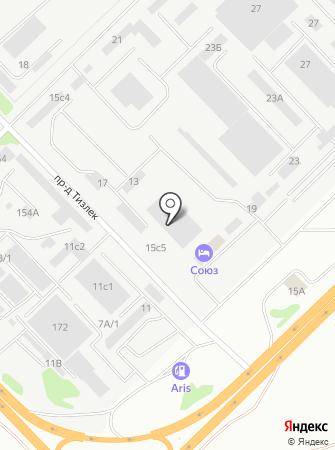 Автокомплекс на М-7 на карте
