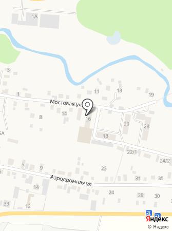 Делвиз на карте