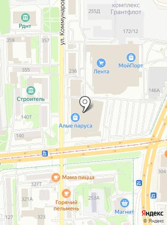 Сервис безопасности на карте
