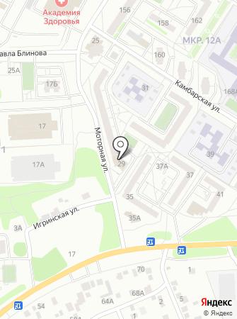 Общественная приемная депутата Городской Думы г. Ижевска Сурнина С.Е. на карте