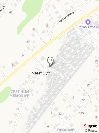 Чемошур на карте