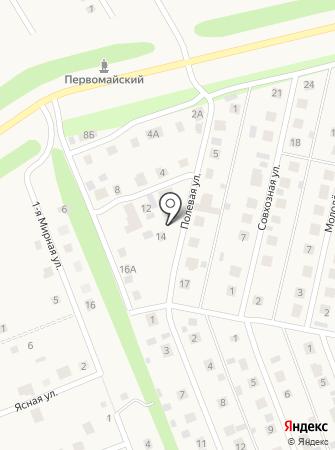 Тэкос на карте