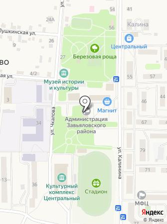 Отдел по делам несовершеннолетних и защите их прав Администрации Завьяловского района на карте