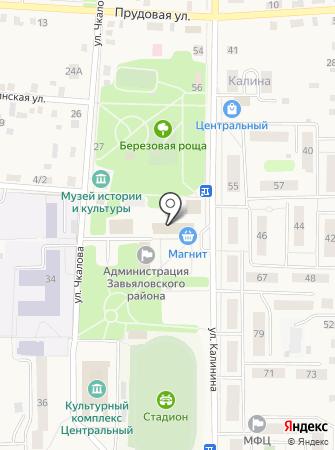 Контур-фото на карте