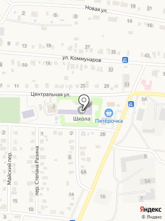 Красноуральская средняя общеобразовательная школа на карте