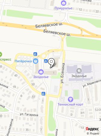 Infini на карте