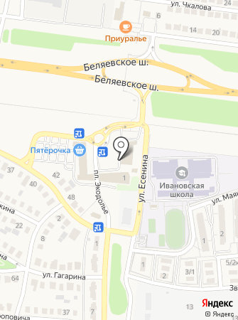Ателье Берендеевой на карте