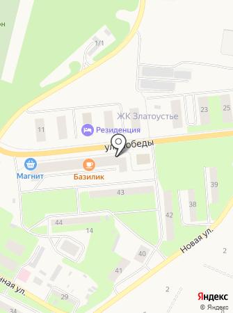 Загородный клуб на карте