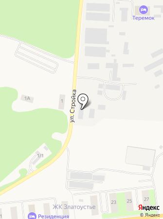 Рэн на карте