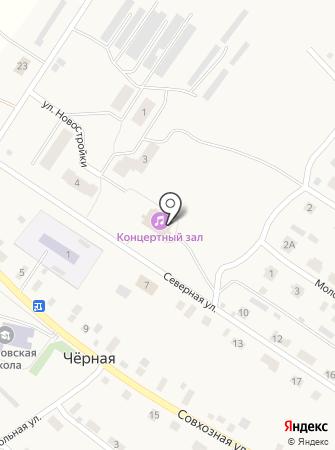 Черновской сельский дом культуры на карте