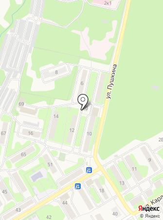 Дорожная служба на карте