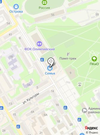 ХотЯбыч на карте