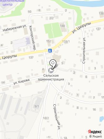 Почтовое отделение с. Булгаково на карте