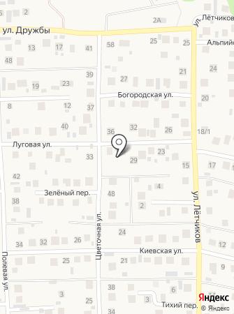 Бэхетле на карте