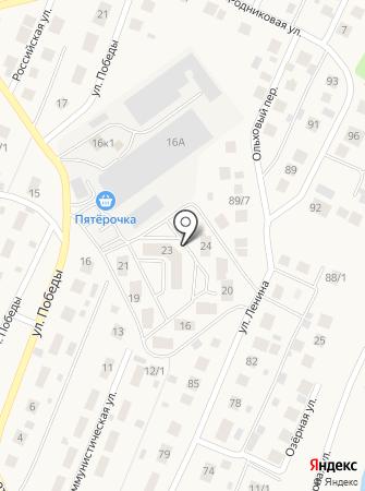 Третий Трест, ГК на карте