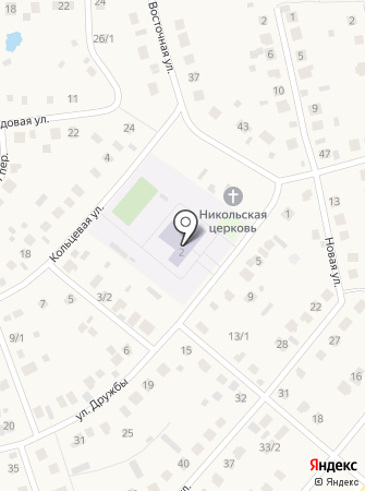 Булгаковский лицей на карте