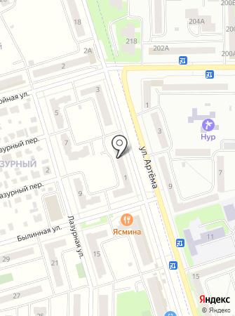 Промгражданпроект на карте
