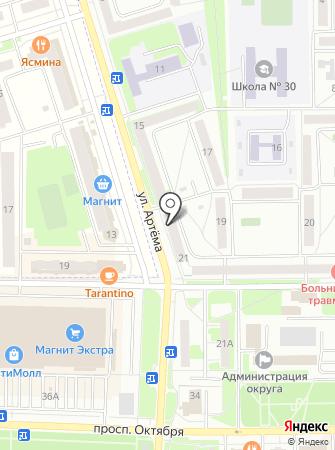 Принт-Лидер на карте