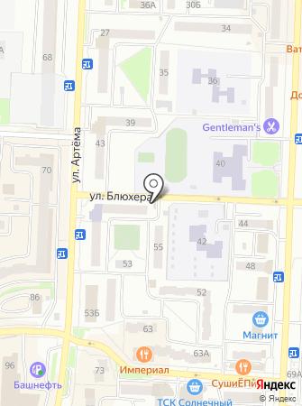 Хлебный на карте