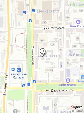 Единая дежурная диспетчерская служба городского округа г. Салавата на карте