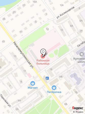 Култаевская участковая больница на карте