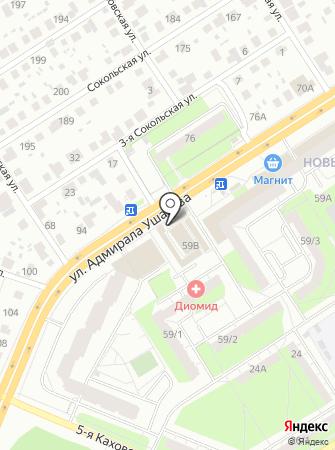 Элика на карте