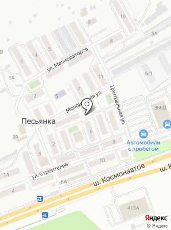 Платежный терминал, АКБ Мособлбанк на карте