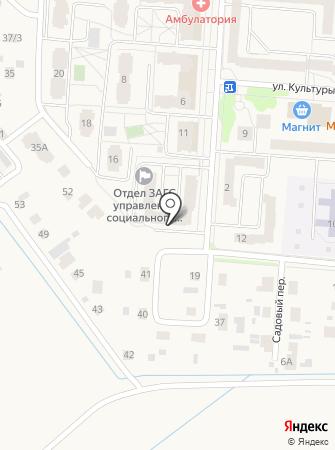 Администрация Кондратовского сельского поселения на карте