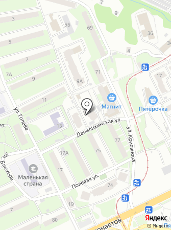 Ажур-аудит на карте