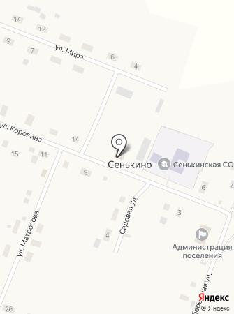 Администрация Сенькинского сельского поселения на карте