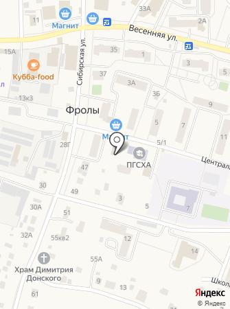 Динко на карте