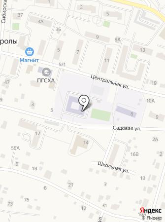 Фроловская средняя общеобразовательная школа на карте