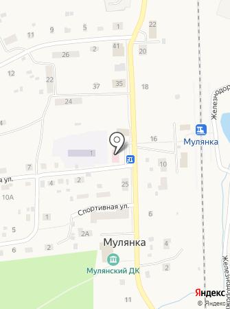 Мулянская сельская врачебная амбулатория на карте