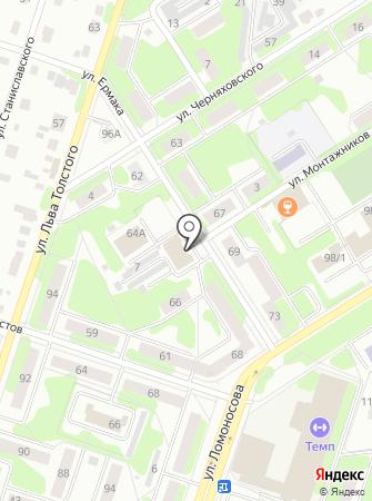 АВГУР на карте