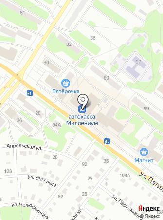 Боуллинг-центр на карте
