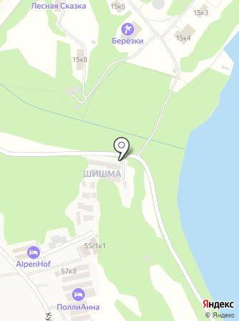 Шишма, ТСЖ на карте